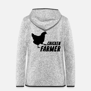 Farmer Chicken Farmer Farmer Farmer - Women's Hooded Fleece Jacket