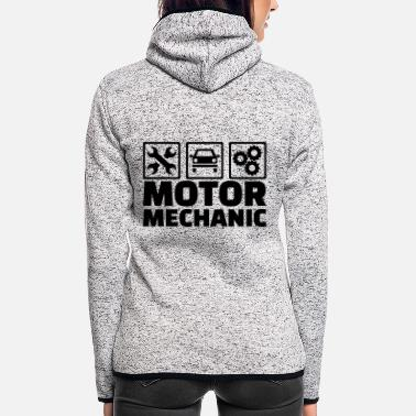 Motor Motor mechanic - Women's Hooded Fleece Jacket