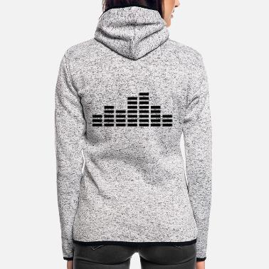 Audio audio - Frauen Fleece Kapuzenjacke
