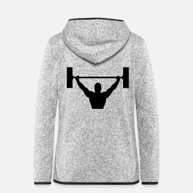 Building body building - Women's Hooded Fleece Jacket