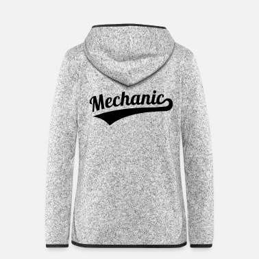 Mechaniker Mechaniker - Frauen Fleece Kapuzenjacke
