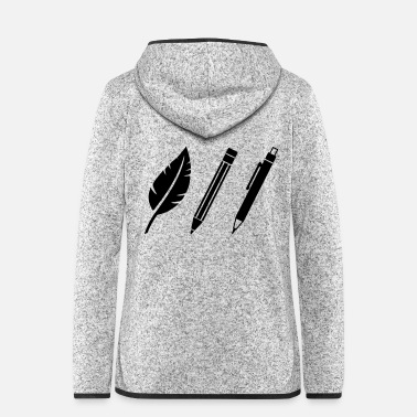 Artist Artist - Women's Hooded Fleece Jacket