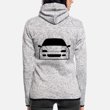 JDM Car eyes EG6 | T-shirts JDM - Frauen Fleece Kapuzenjacke
