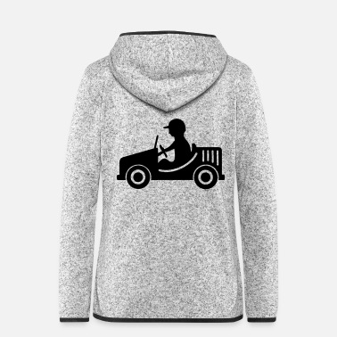 Motor motoring - Women's Hooded Fleece Jacket