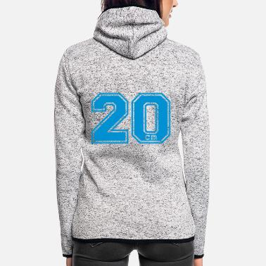 Fun twenty - 20 - Vrouwen fleece jack
