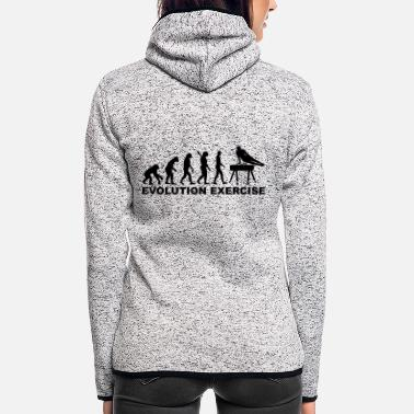 Exercise Evolution exercise - Women's Hooded Fleece Jacket