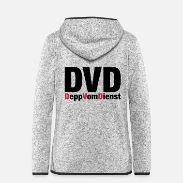 Dvd DVD - Women's Hooded Fleece Jacket