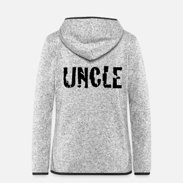 Uncle uncle - Women's Hooded Fleece Jacket