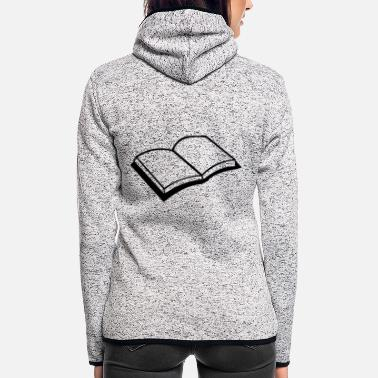 Book Book - Women's Hooded Fleece Jacket