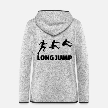 Long Long Jump - Women's Hooded Fleece Jacket