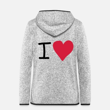 Cuore i herz - Women's Hooded Fleece Jacket