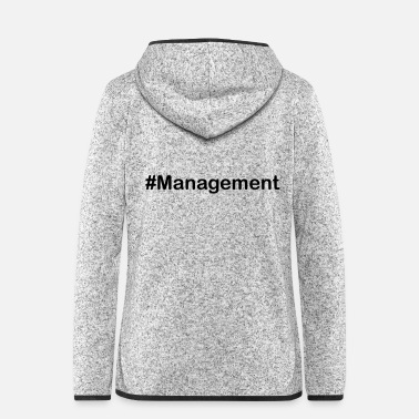 Kultur management - Frauen Fleece Kapuzenjacke