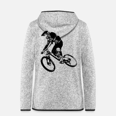Downhill downhiller - Women's Hooded Fleece Jacket