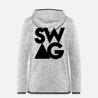Swag Swag - Women's Hooded Fleece Jacket
