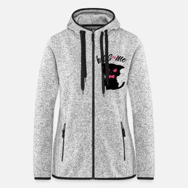Cat sweet - Women's Hooded Fleece Jacket