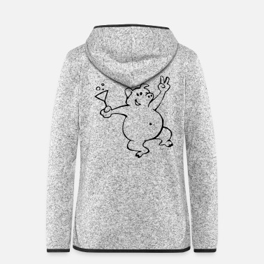 Sow Party sow - Women's Hooded Fleece Jacket
