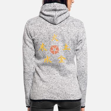 Religion Five Elements - Women's Hooded Fleece Jacket
