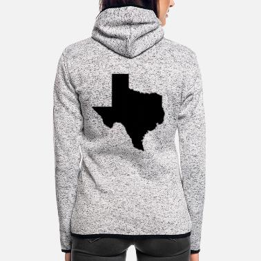 Texas Texas - Frauen Fleece Kapuzenjacke