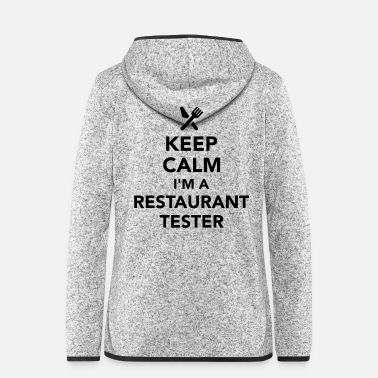 Restaurant Restaurant tester - Women's Hooded Fleece Jacket