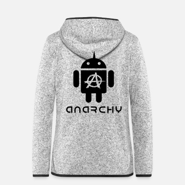 Vector ANARCHOID1 VECTOR - Women's Hooded Fleece Jacket