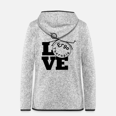 Occupation Love Occupational Therapy / Occupational Therapist - Women's Hooded Fleece Jacket