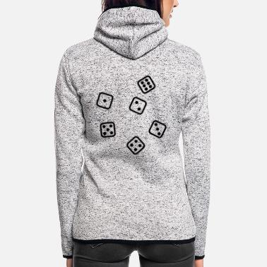 Dice Dice - Women's Hooded Fleece Jacket