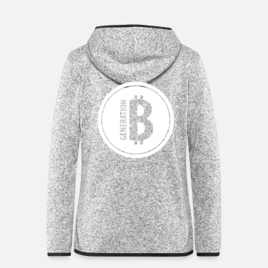 Technologie GENERATION BITCOIN – Blockchain Krypto - Frauen Fleece Kapuzenjacke