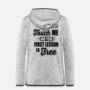 Lessons first lesson is free - Women's Hooded Fleece Jacket