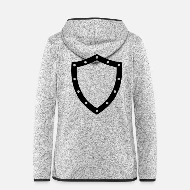 Shield shield - Women's Hooded Fleece Jacket