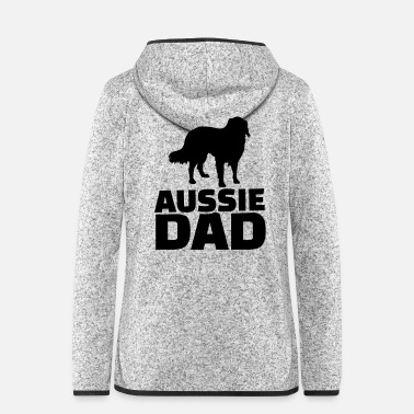 Aussie Aussie Dad - Women's Hooded Fleece Jacket
