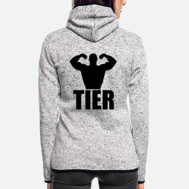 Tier tier - Frauen Fleece Kapuzenjacke