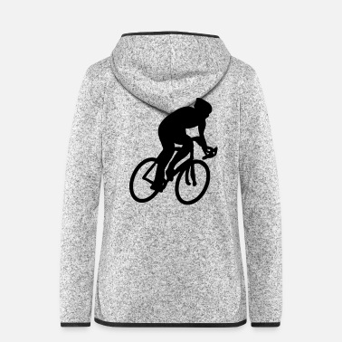 Cycling cycle cyclist cycling - Women's Hooded Fleece Jacket