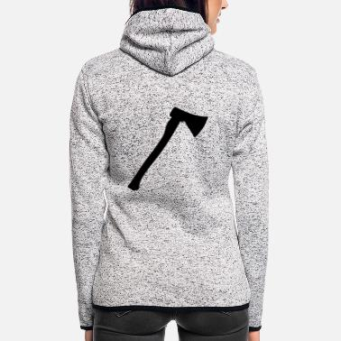 Axe Ax - axe - weapon - Women's Hooded Fleece Jacket
