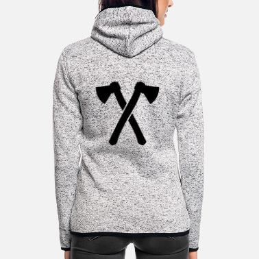 Axe axes - Women's Hooded Fleece Jacket