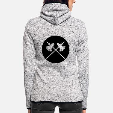 Axe axe axed - Women's Hooded Fleece Jacket