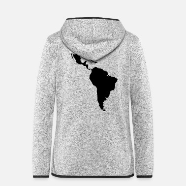 South America Latin America - South America - Women's Hooded Fleece Jacket