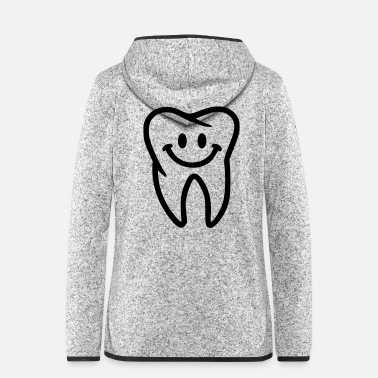 Tooth Tooth - Women's Hooded Fleece Jacket