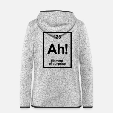 Periodic Table periodic table - Women's Hooded Fleece Jacket