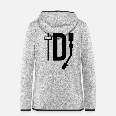 Deejay DJ - DEEJAY - Women's Hooded Fleece Jacket