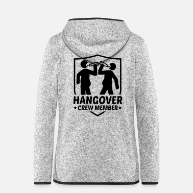 Champ hangover_crew_member1f1 - Women's Hooded Fleece Jacket