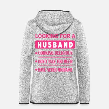 Husband Looking For Husband - Women's Hooded Fleece Jacket