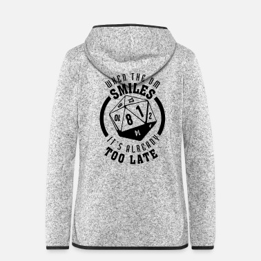 Offensief When the Smile Het is al te laat - Vrouwen fleece jack