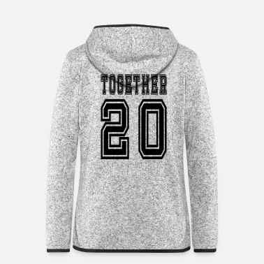 Together Together 20 - Women's Hooded Fleece Jacket