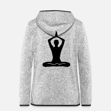 Meditation Meditation - Women's Hooded Fleece Jacket