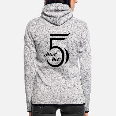 Hive Hive Me Five - Frauen Fleece Kapuzenjacke