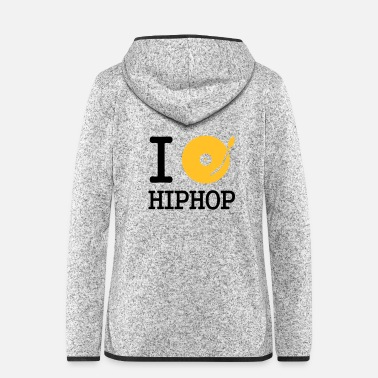 Club I dj / play / listen to hiphop - Women's Hooded Fleece Jacket