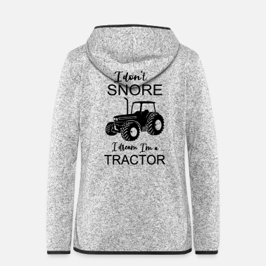 Farmer Tractor tractor farmer farmer gift funny - Women's Hooded Fleece Jacket