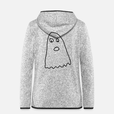 Provoke Angry Ghost - Women's Hooded Fleece Jacket