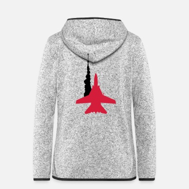 Missile F-14 Tomcat Missile Launch - Women's Hooded Fleece Jacket