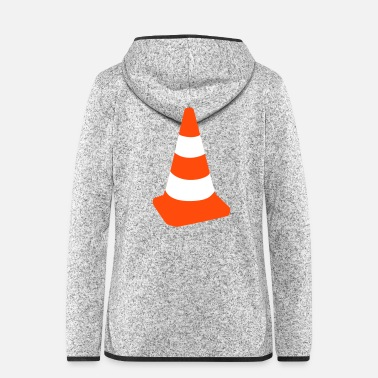 Traffic Traffic cone - Women's Hooded Fleece Jacket